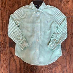 Ralph Lauren boys size 7 shirt